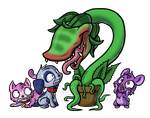Littlest Shop Of Horrors by NeroStreet