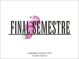 Final Semestre by GreatShadow