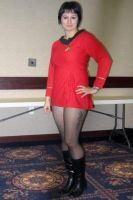 Classic Star Trek uniform by meiylen