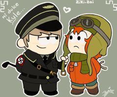 Cartman x Kyle by ziki-zai