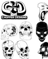 ChopperDesign's Skull Set by choppre