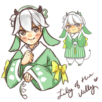 D2A: Lily Of The Valley [CLOSED - Winner] by kiim-adopts