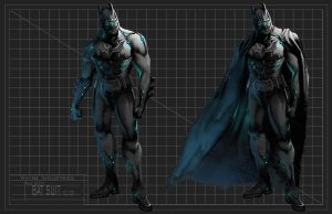Batman Initial Concept by CrappyArtistTumte