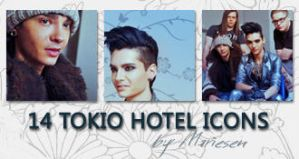 Icons: Tokio Hotel set4 by Mariesen