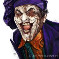 Joker by mrobinson-art