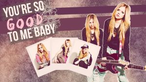 Wallpaper #O3 (Avril Lavigne) - PEDIDO by CrayolaWasHere