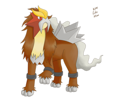 244 Entei by pokemon-countdown