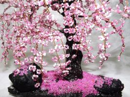 cherry blossoms by WoolArtToys