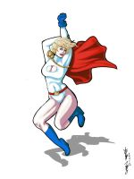 Power Girl by kittynpink