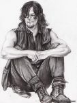 Daryl Dixon - TWD season 6 by zelldinchit