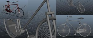 Bicycle Model by Jeleane