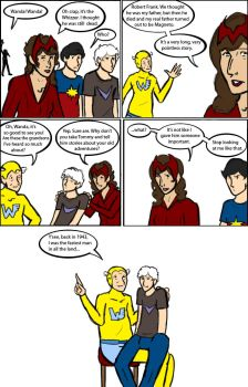 Young Avengers: Grandfatherish by magickmaker