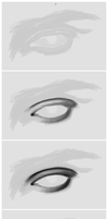 DTutorial : Eye by phoenirius