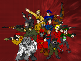 Cast of Blood and Gore 2025 by AlexeiKazansky
