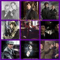 Holmes and Watson by HalloweenMAGE