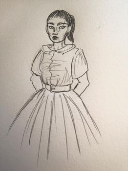 Josephine sketch by Ispell2