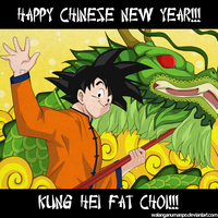 Happy Chinese New Year by darthfilart