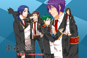 MM: UTAPRI STUDENT COUNCIL by TAKESHl