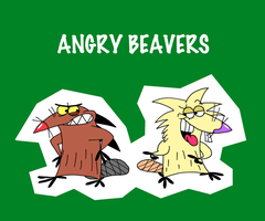 Angry Beavers by OysteIce