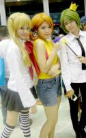 Misa,Misty and Cosmo! by Lawrielle21