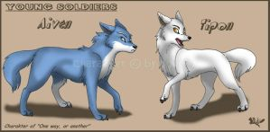 Yound soldiers by RukiFox