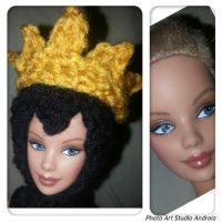 Evil Queen Headpiece for Barbie by jelc85
