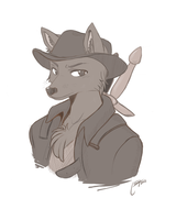 rufus by thestoneycoyote