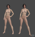Ada Wong - Carla Radames Nude Pack DL! (+Textures) by anorexianevrosa