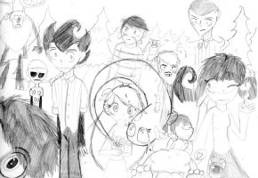 anime don't starve by tooncooro