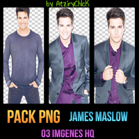 +Pack PNG James Maslow by AtziryChIcK