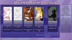 Shik's commissions price guide 2012 by ShikkaTL