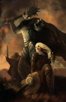 Eowyn vs Nazgul by BeniBeniGG