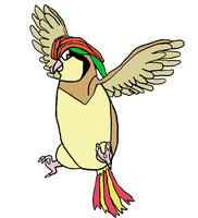 Jackit Yellow: Ace the Pidgeotto by JackitK