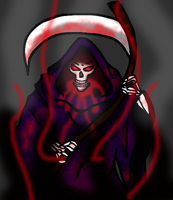 I Give You... Deaz Skordeman the Reaper!! by Papyrvs