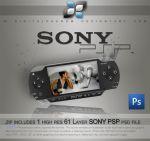 Sony PSP psd by DigitalPhenom