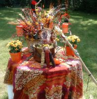 Mabon Altar by jezebelwitch