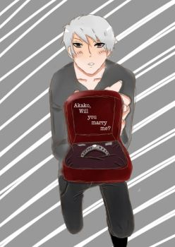 Akako will you marry me? by ask--prussia