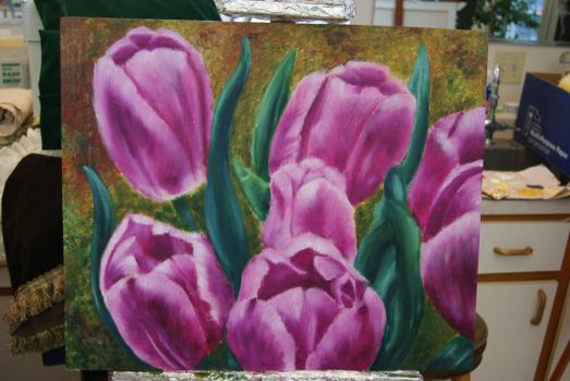 Tulips by satin993