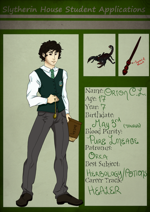 Orion of Slytherin