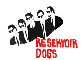 Reservoir Dogs Sketch by BloggedYourMom
