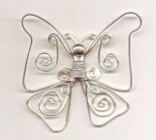 wirework butterfly by DonaIvanova