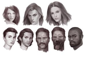 Head Study ~~ by Danielllee