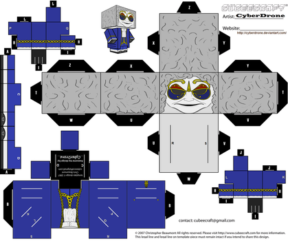 Cubee - Clockwork Droid 'Ver1' by CyberDrone
