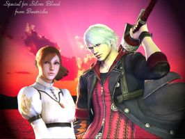 DMC4 Nero and Kyrie by Beatriche87