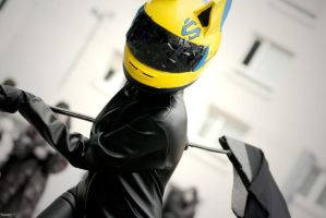 Don't say a word - Celty Sturluson by CreativeCupcake