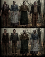 Resident Evil 4 UHD Edition ganado (villages) by RealMoonlight