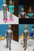 King and Queen Barbie by seawaterwitch