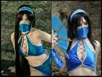 Kitana - Mortal Kombat 9 by Yurai-cosplay
