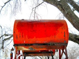 Red Gas Tank by rosesnsuch