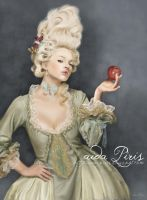 Marie Antoinette by Seleneprincess